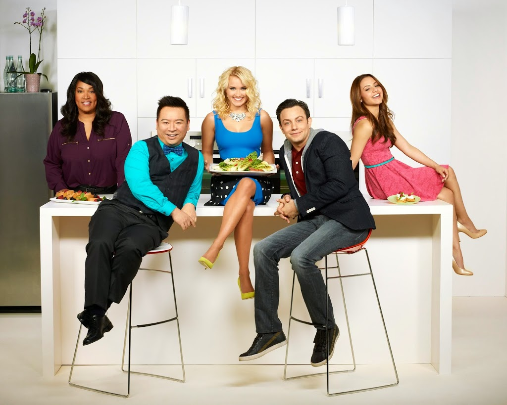 Dishing Up Laughs with the Cast of Young & Hungry #ABCFamilyEvent