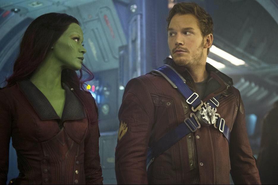 Inside The Green Scene with Gamora | Zoe Saldana Interview #GuardiansoftheGalaxyEvent