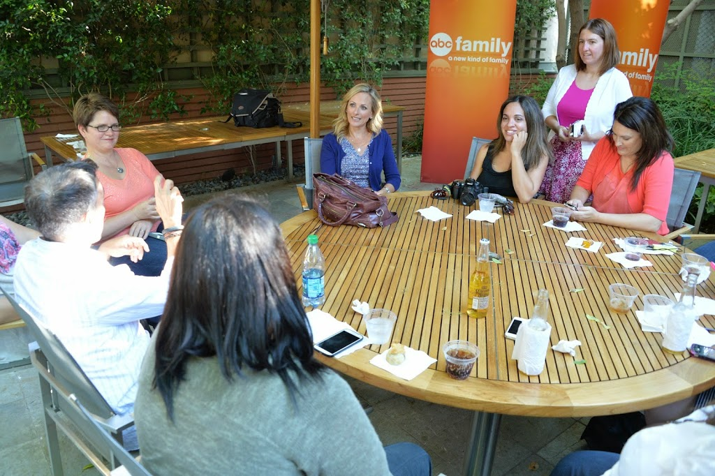 Starstruck with Marlee Matlin at the Moms of ABC Family Mixer #ABCFamilyEvent