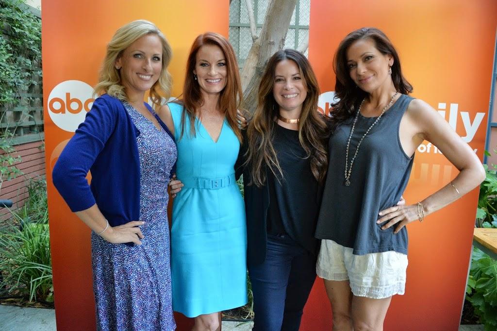 Starstruck with Marlee Matlin at the Moms of ABC Family Mixer #ABCFamilyEvent