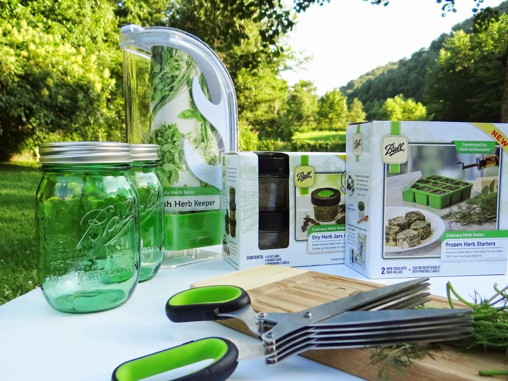 Fresh Innovations in Herb Preservation | Jarden Home Brands Ball Canning #CanItForward