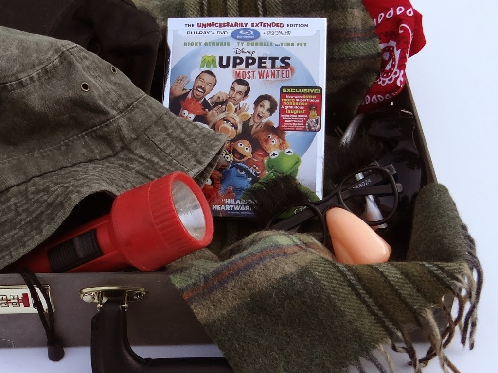 Make Your Own Spy Kit & More | Muppets Most Wanted #Family Movie Night