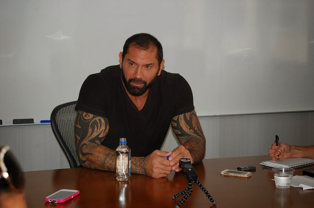 From WWE to a Moon Age Daydream - Interview with Dave Bautista aka Drax #GuardiansoftheGalaxyEvent