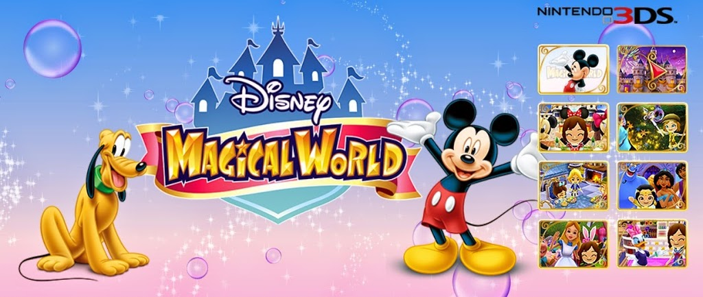 Enchanted with the Disney Magical World for Nintendo 3DS #spon