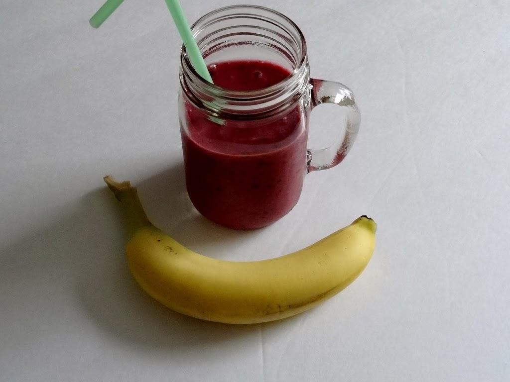 Berry Berry Banana #Smoothie