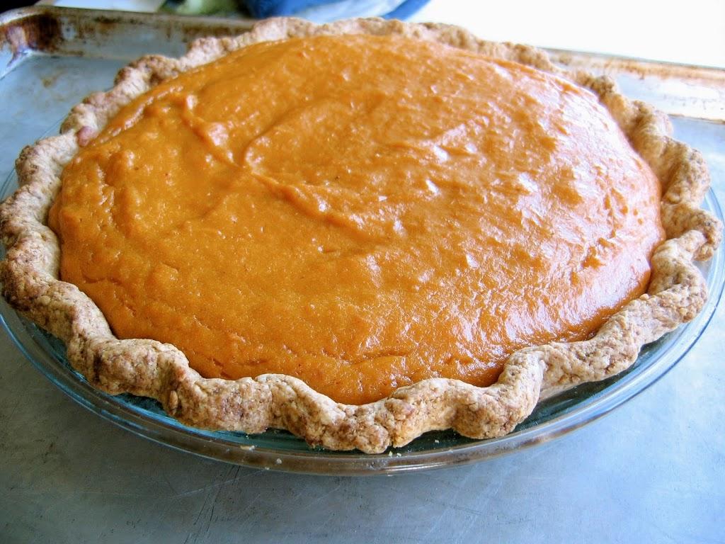 Allen Dikker of Potatopia's Sweet Potato Custard Pie Recipe