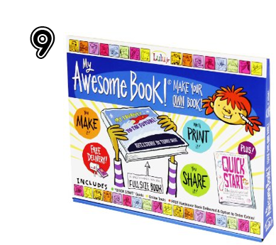 My Awesome Book - Unique Gift Ideas for Teens   2014 Rural Mom Holiday Guide