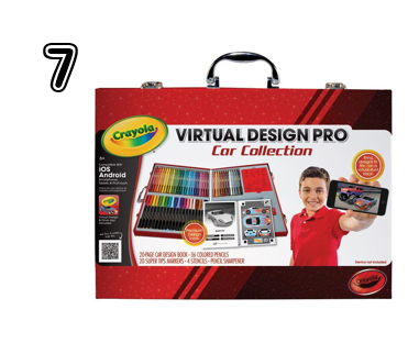 Crayola Virtual Design Pro Car Collection - Unique Gift Ideas for Teens | 2014 Rural Mom Holiday Guide