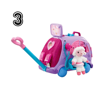 Doc McStuffins Get Better Talking Mobile Cart - Rural Mom Hot Toys for 2014 Holiday Gift Guide