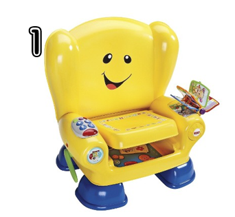Fisher-Price Laugh and Learn Smart Stages Chair - Rural Mom Hot Toys for 2014 Holiday Gift Guide