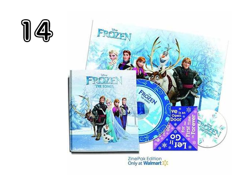 Disney's Frozen The Songs Zine Pak  - 15 Incredible Stocking Stuffer Ideas! | 2014 Rural Mom Holiday Gift Guide