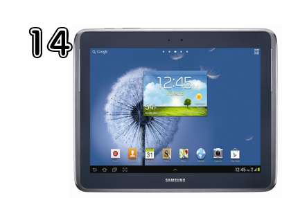 Samsung Galaxy Note 10.1 - Unique Gift Ideas for Teens | 2014 Rural Mom Holiday Guide