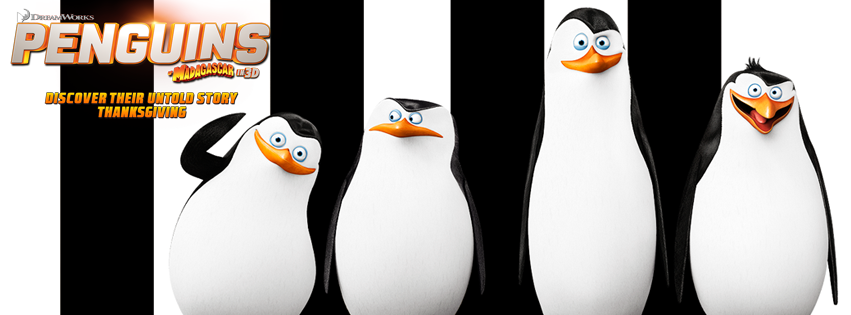 Skipper. Shouldn't we tell them we have a feature film for Thanksgiving? #PenguinsMovie