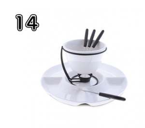 Swissmar Indulgence 8PC Fondue Set - Great Gifts for Mom & Dad   Rural Mom 2014 Holiday Guide