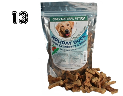 Only Natural Pet Holiday Dog Biscuits - 15 Incredible Stocking Stuffer Ideas! | 2014 Rural Mom Holiday Gift Guide
