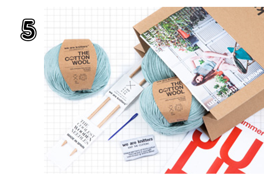 We Are Knitters Knitting Kits - 15 Incredible Stocking Stuffer Ideas! | 2014 Rural Mom Holiday Gift Guide