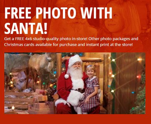 Bass Pro Shop free photo w/Santa