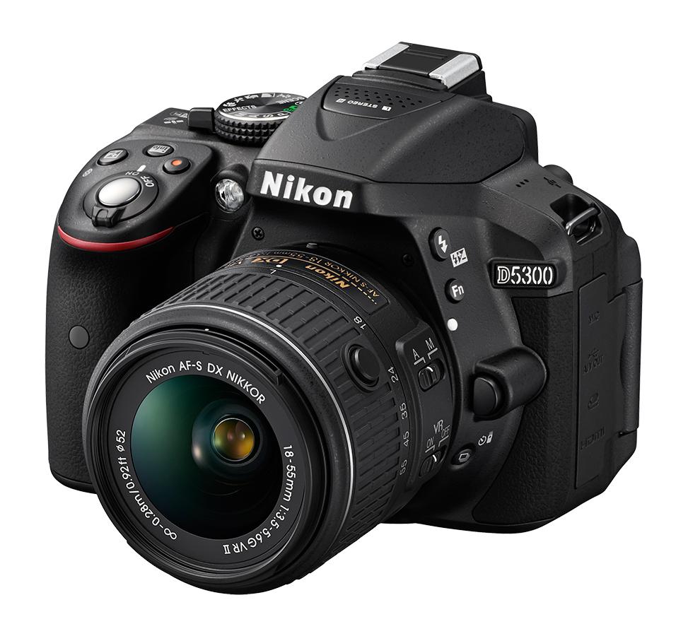 #Nikon D5300 DSLR camera