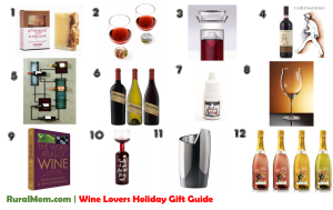 Rural Mom Wine Lovers Holiday Gift Guide