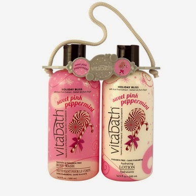Vitabath Sweet Pink Peppermint Set #Giveaway