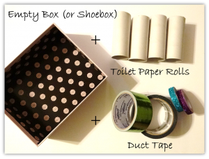 Duct Tape Crafts: #DIY Art Tray