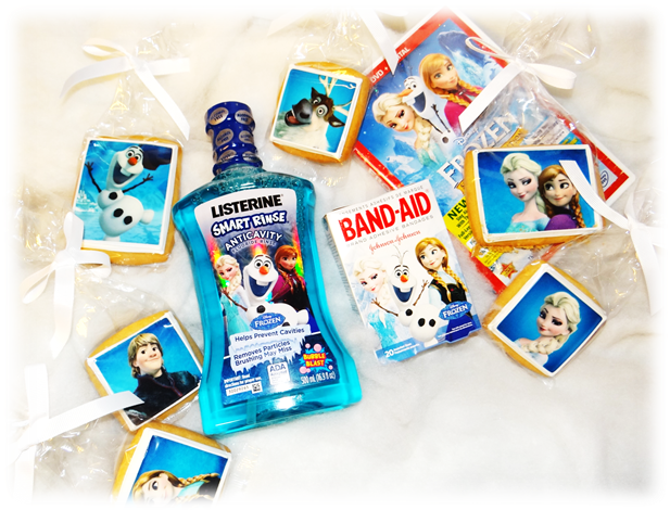 Stock Up For Holiday Health with Olaf and all Your Favorites from Frozen | #Listerine #Frozen