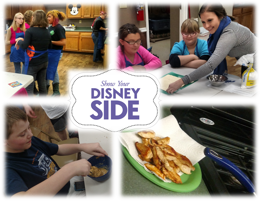 Expressing Our #DisneySide in the Kitchen! #spon