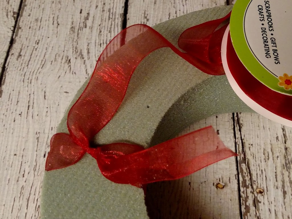 Dollar Tree Crafts Quick And Easy Valentines Day Ribbon Wreath