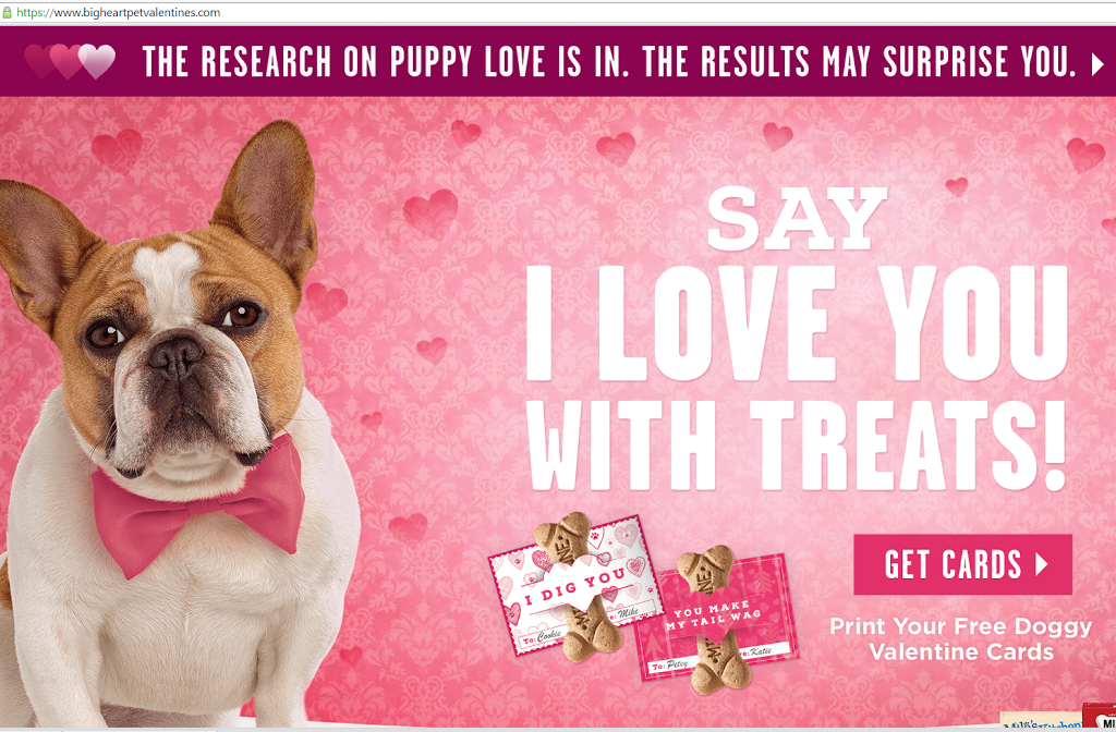 This Valentine Is For The Dogs Say I Love You With