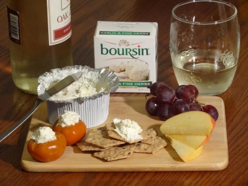 Boursin Cheese w Pinot