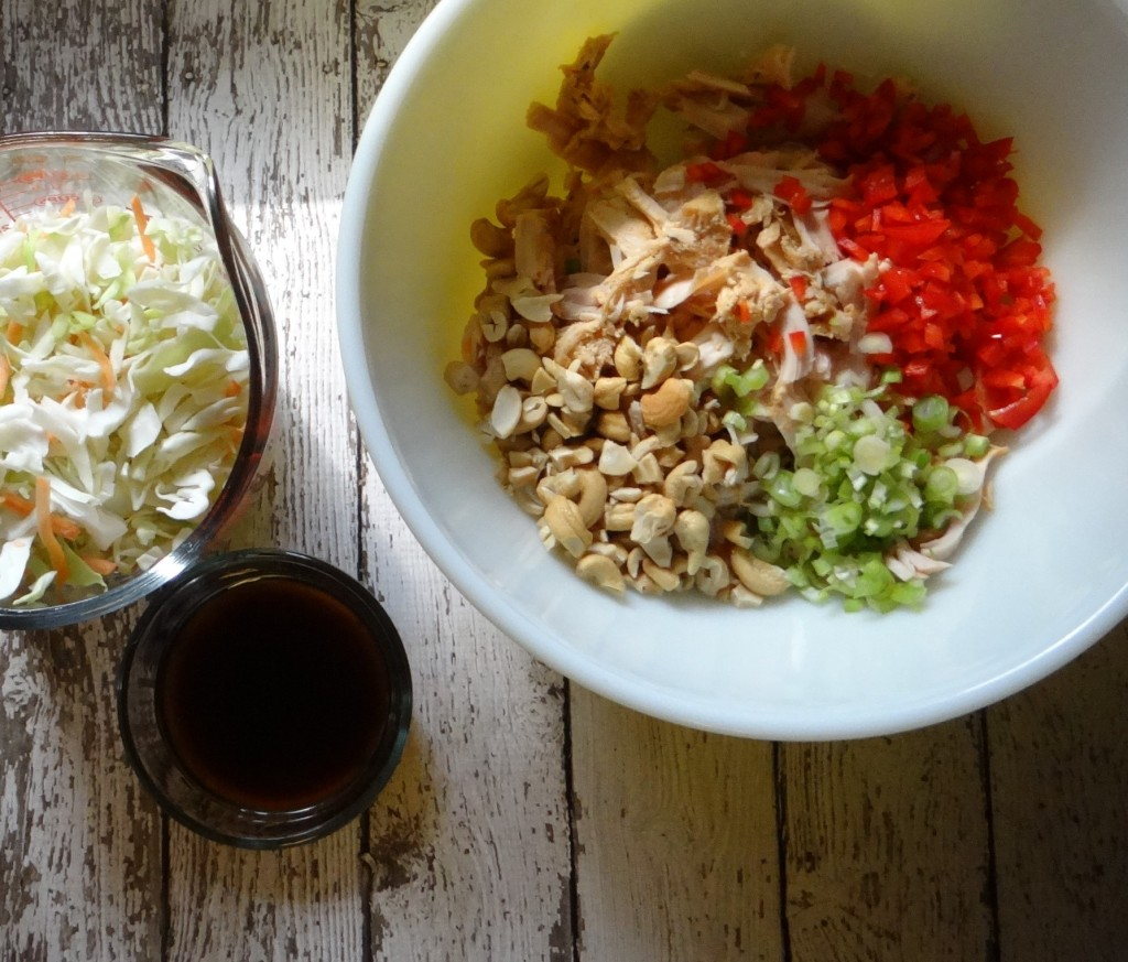 Asian Cashew Turkey Salad