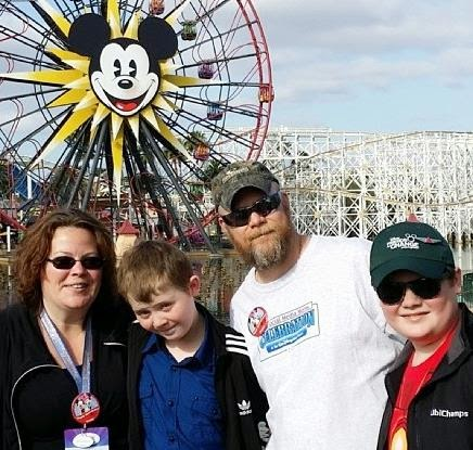 Barb Webb and Family