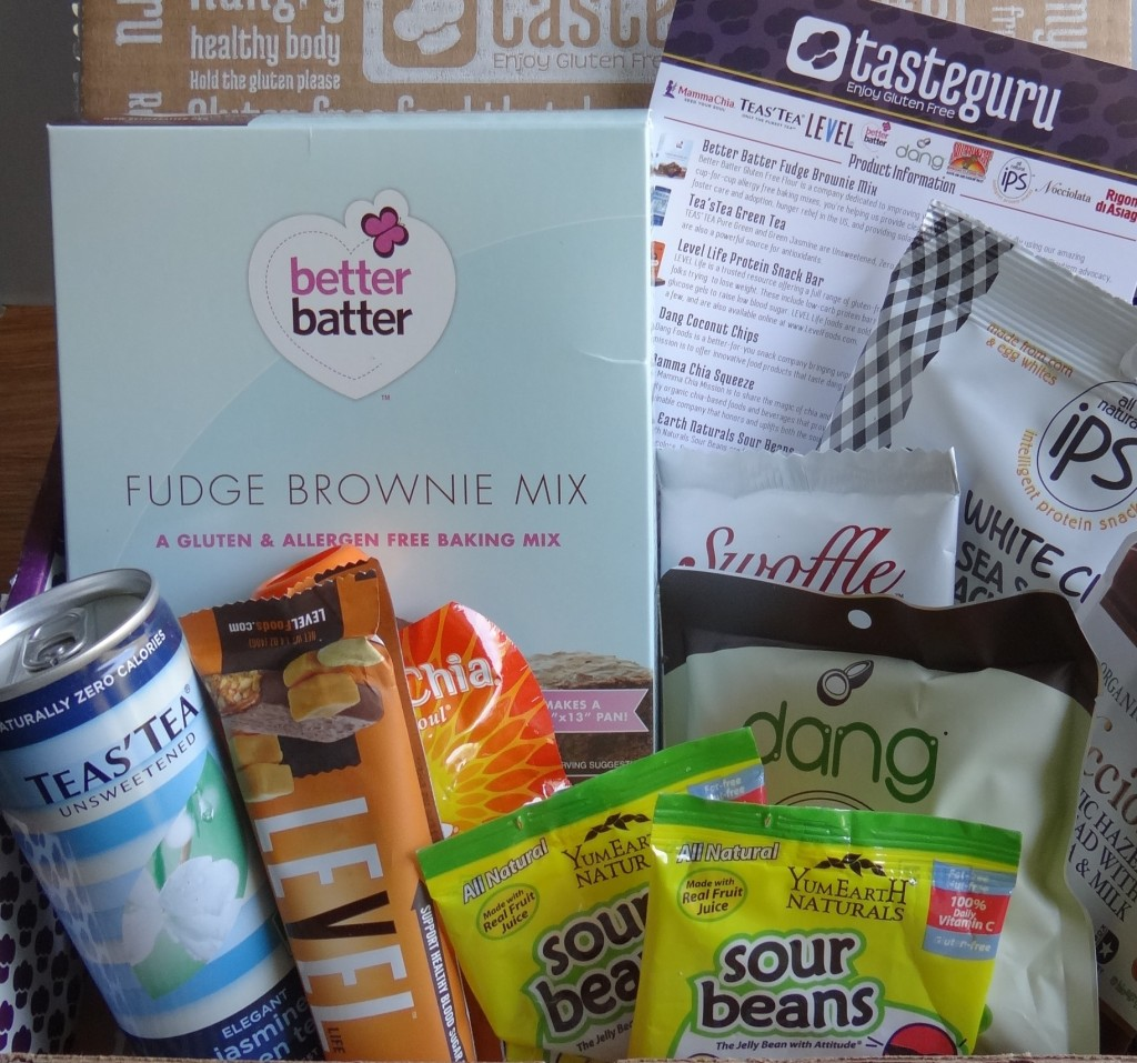 Simple and Delicious Gluten Free Snacking with TasteGuru