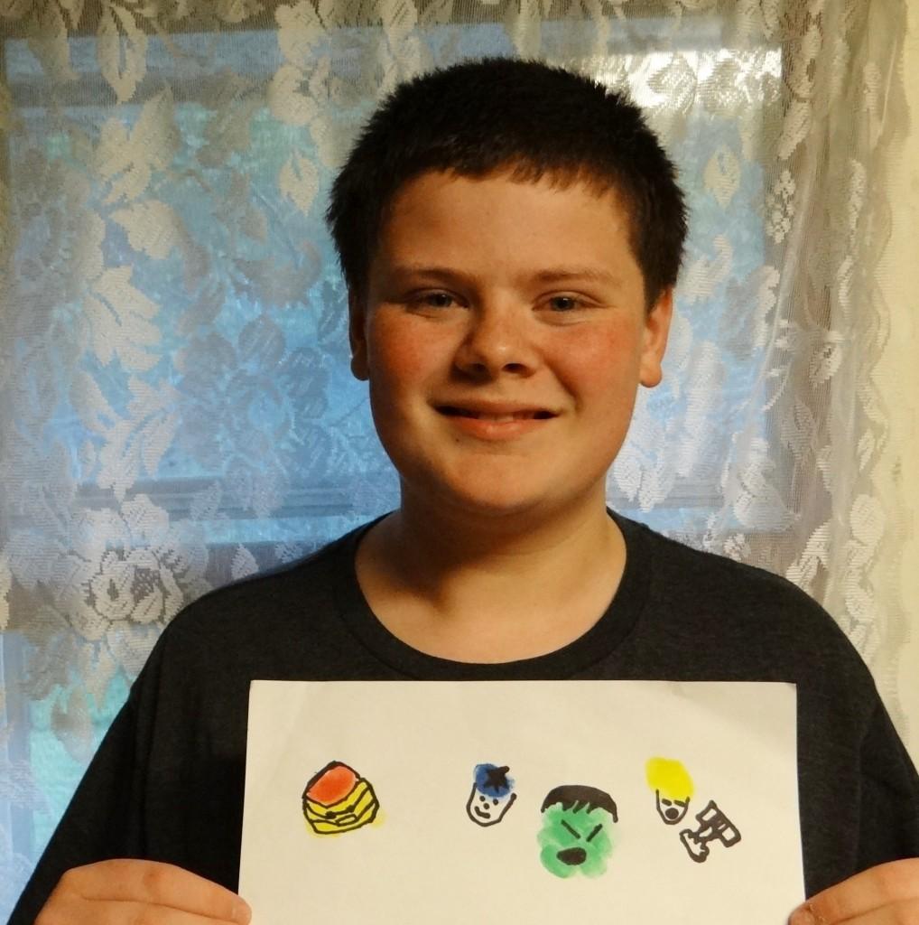 Superhero Fingerprint Craft   Inspiring Creative Play