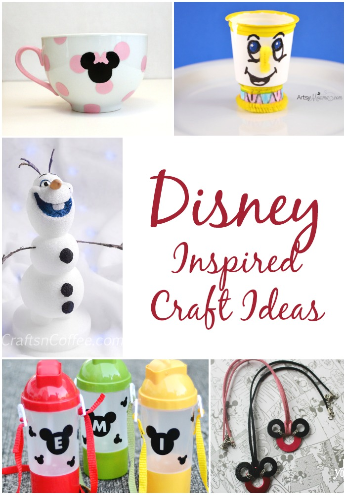 Disney Inspired Crafts