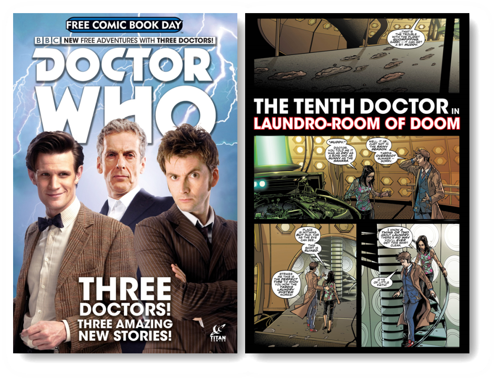 Free Comic Book Day - Dr. Who