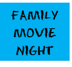family movie night button