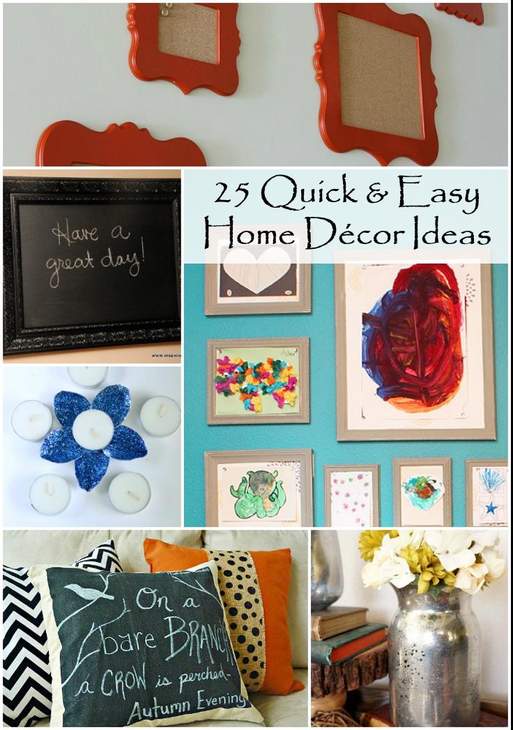 25 quick and easy diy home decor ideas rural mom