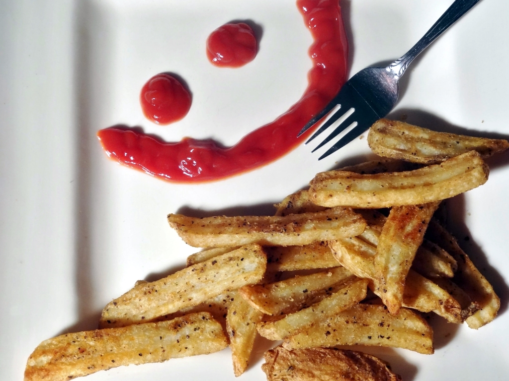 garlic,pepper,bold,crispy,fries