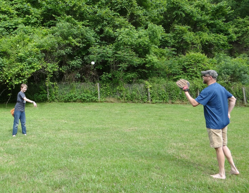 Hey Dad, Want To Play Catch? | Dickies Catch with the Kids #DickiesCatch