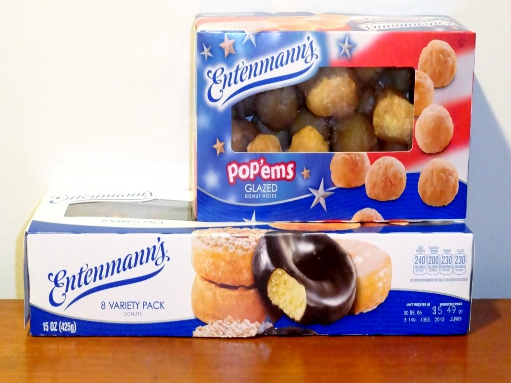 Entenmann's donuts in boxes