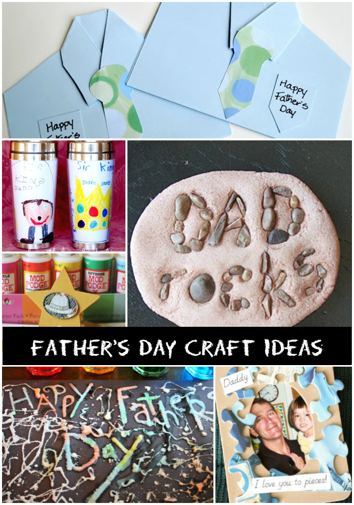 20 Quick & Easy Father's Day Craft Ideas