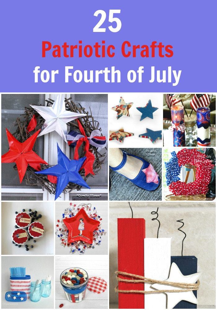 25 Festive Patriotic Crafts for the 4th of July