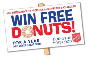 Win Free Donuts sweeps