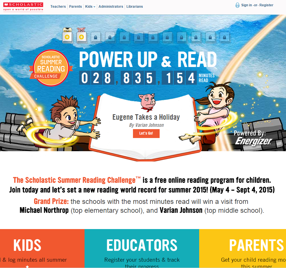 Have You Signed up for the Scholastic Summer Reading Challenge? #SummerReading