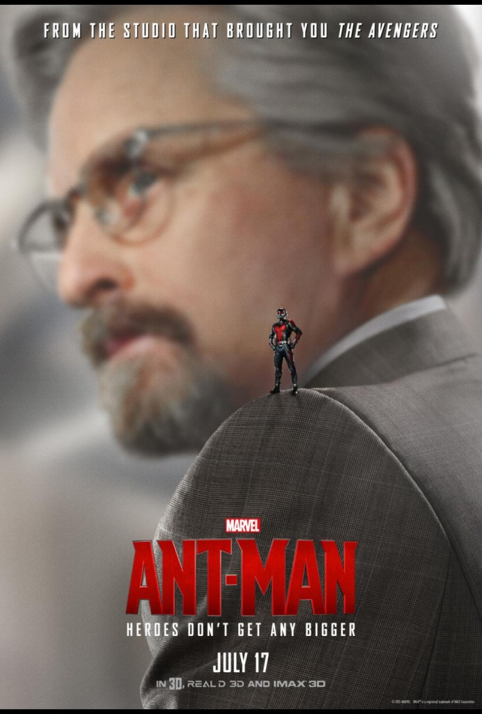 Exclusive Ant-Man Interview with Michael Douglas #AntManEvent