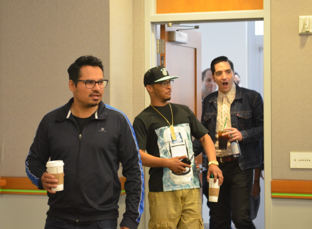 Exclusive Interview with the #Antourage | T.I., Michael Pena & David Dastmalchian #AntManEvent