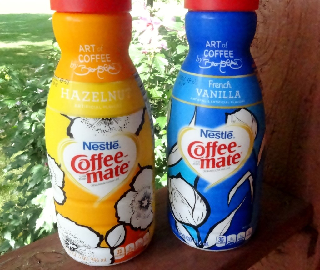 Coffee-mate limited edition bottles