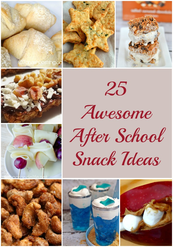 25 Awesome After School Snack Ideas