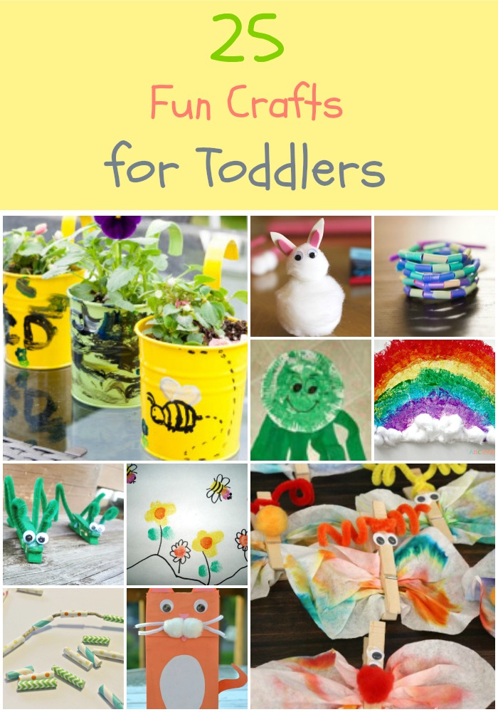 25 Easy and Fun Crafts for Toddlers